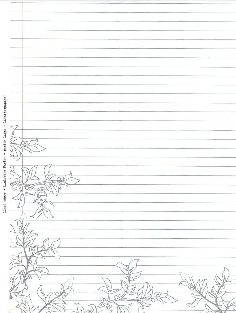 Ziemlich Druckbare Liniertes Papier Vorlage Galerie - Beispiel ...