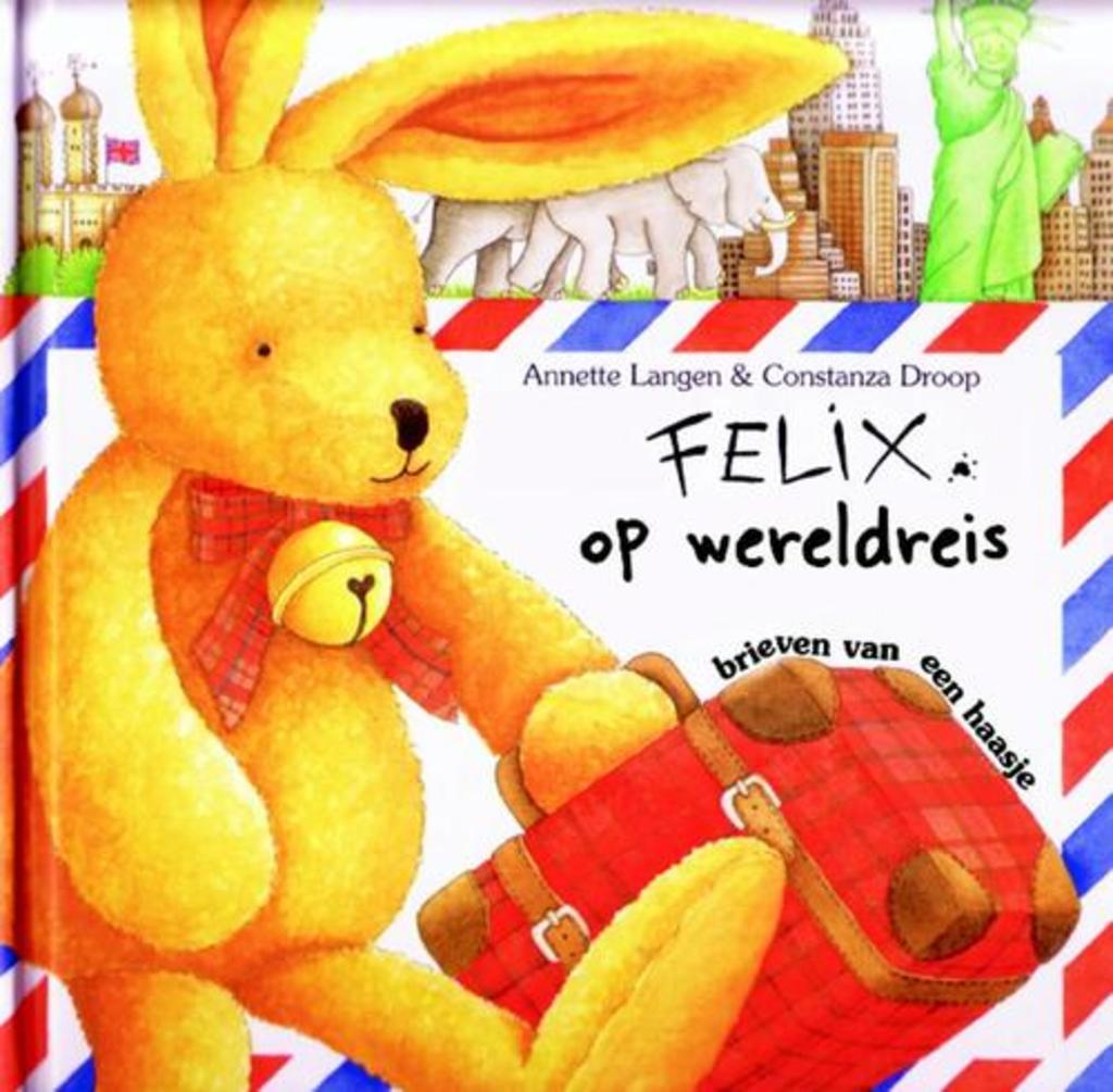 Prentenboek Felix op wereldreis te koop bij meerleuks.nl