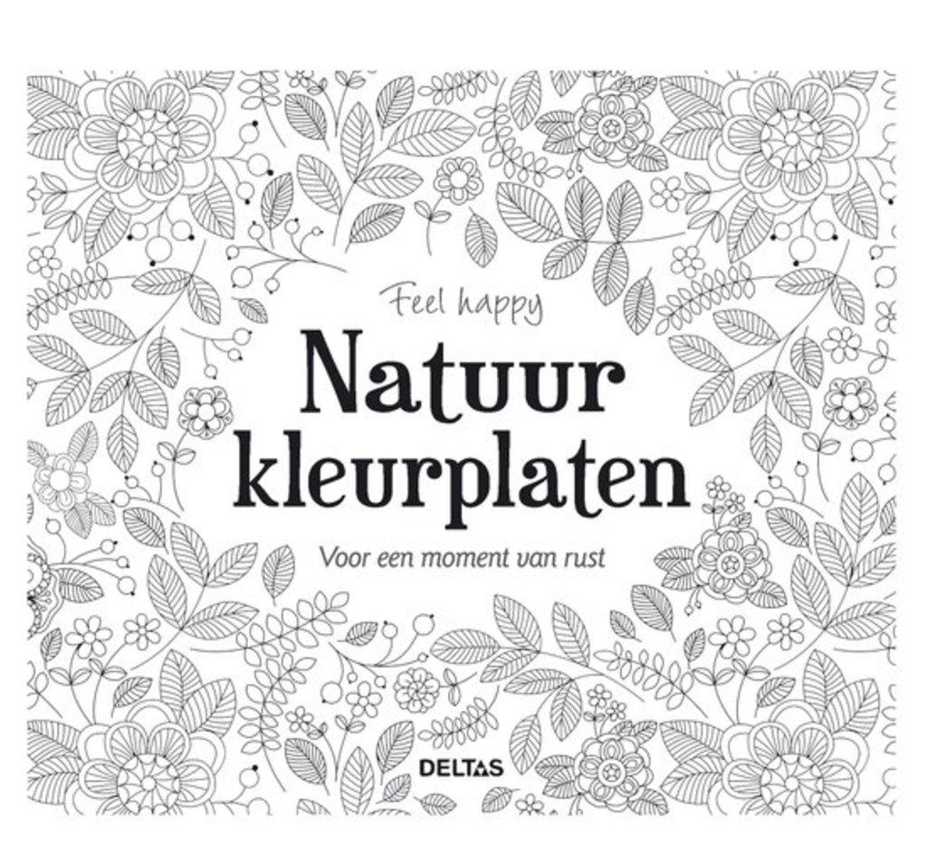 Kleurplaten Van Natuur.Feel Happy Natuur Kleurplaten Meerleuks
