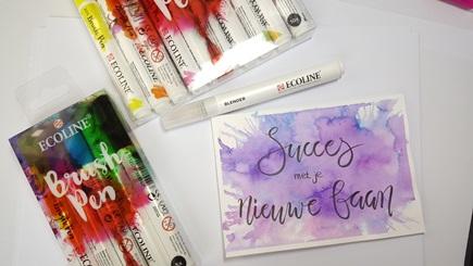 ecoline brush pen royal talens meerleuks