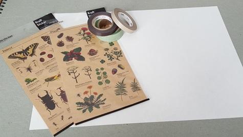 Postpapier maken met Tomoe River Paper deel 2